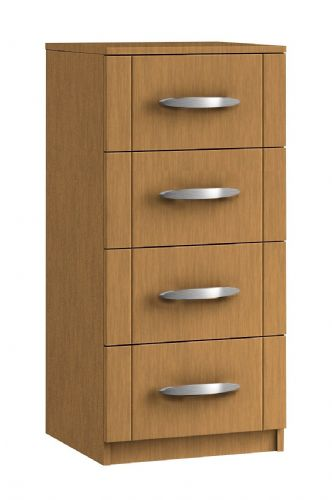 Capri 4 Drawer Narrow Chest
